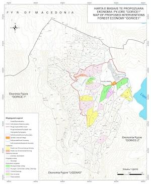 Harta e Nderhyrjeve te Propozuara